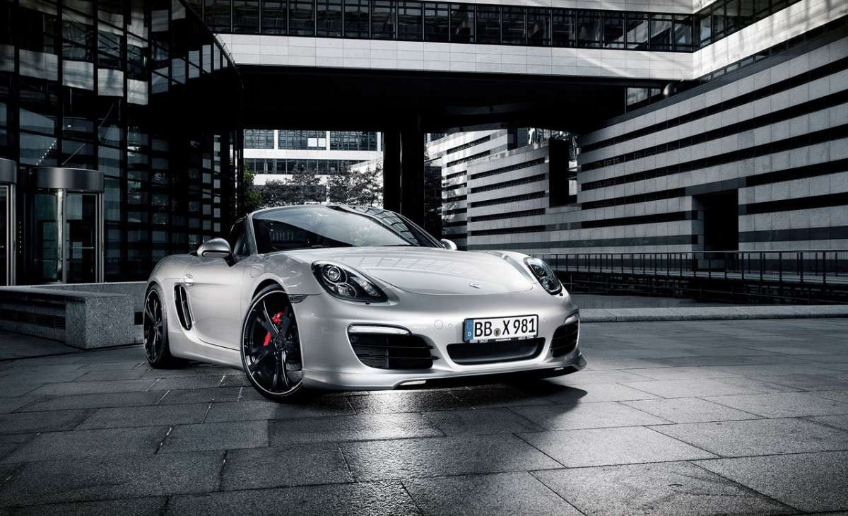 Porsche Boxster by Techart anteriore