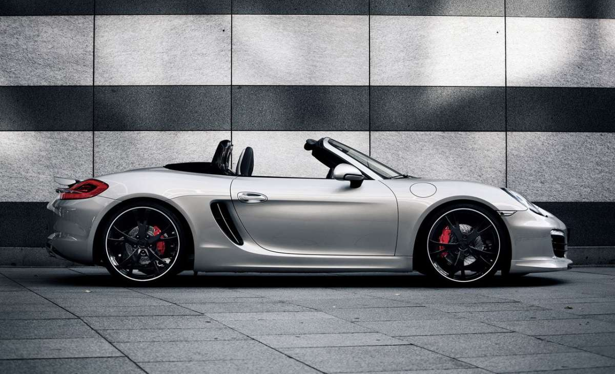 Porsche Boxster by Techart fiancata