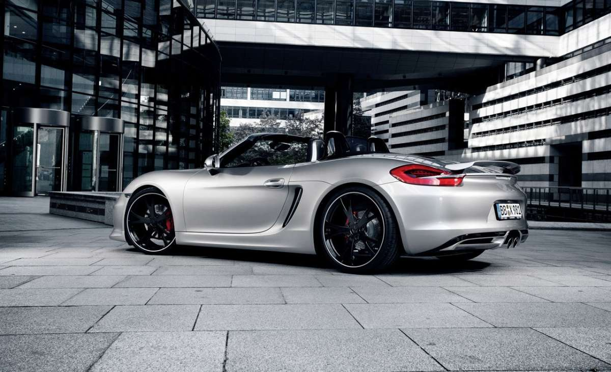 Porsche Boxster by Techart laterale posteriore