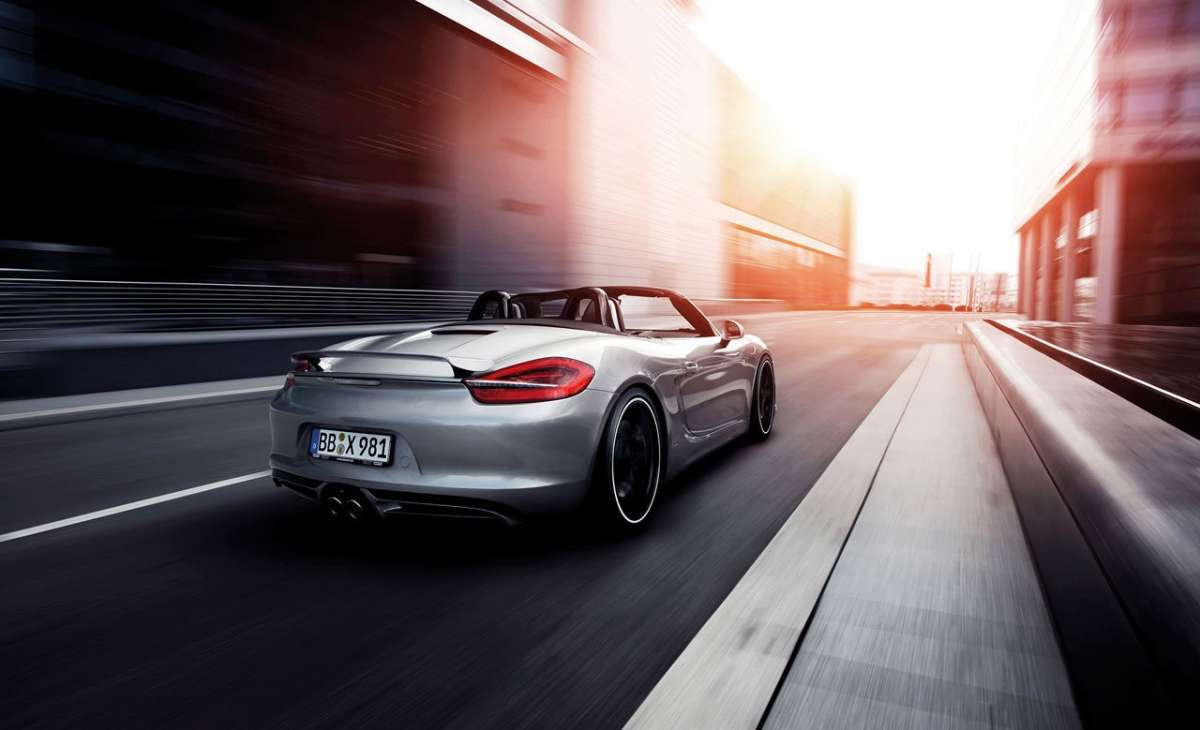 Porsche Boxster by Techart posteriore