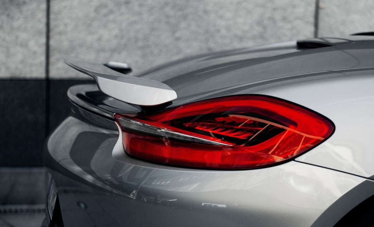 Porsche Boxster by Techart spoiler