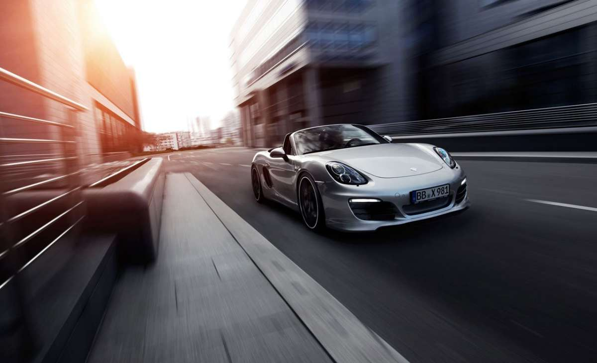 Porsche Boxster by Techart