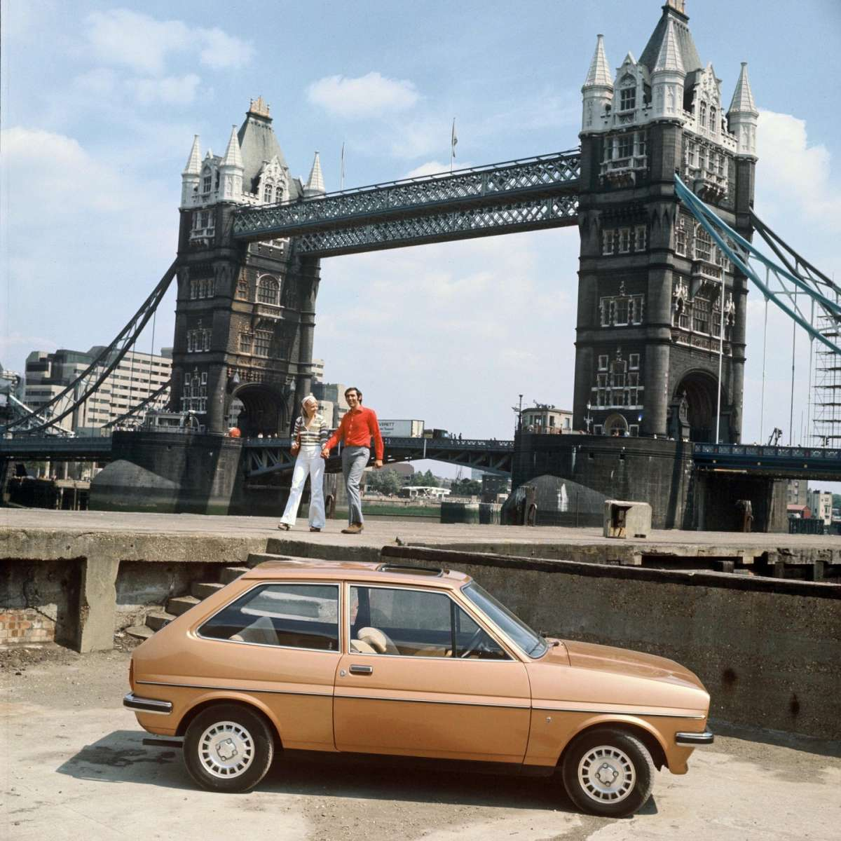 Ford Fiesta 1976 laterale