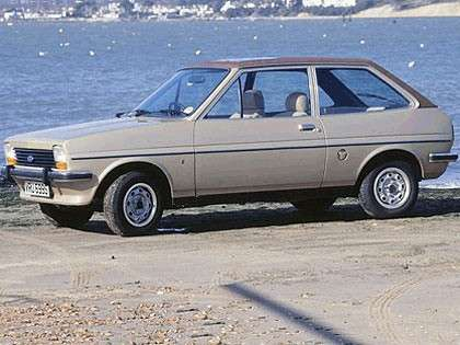 Ford Fiesta 1977 laterale
