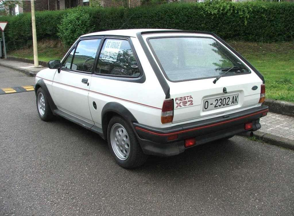 Ford Fiesta xr2 posteriore