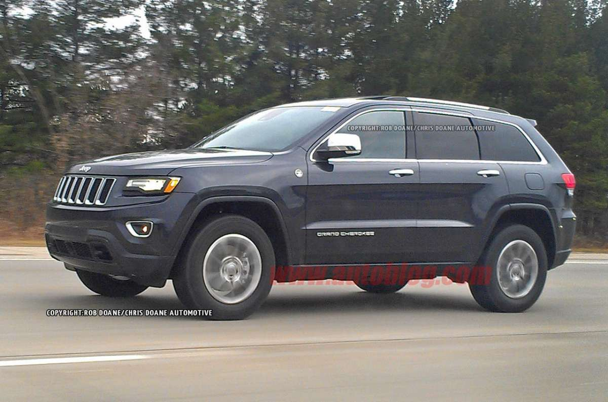 Jeep Grand Cherokee 2014 facelift