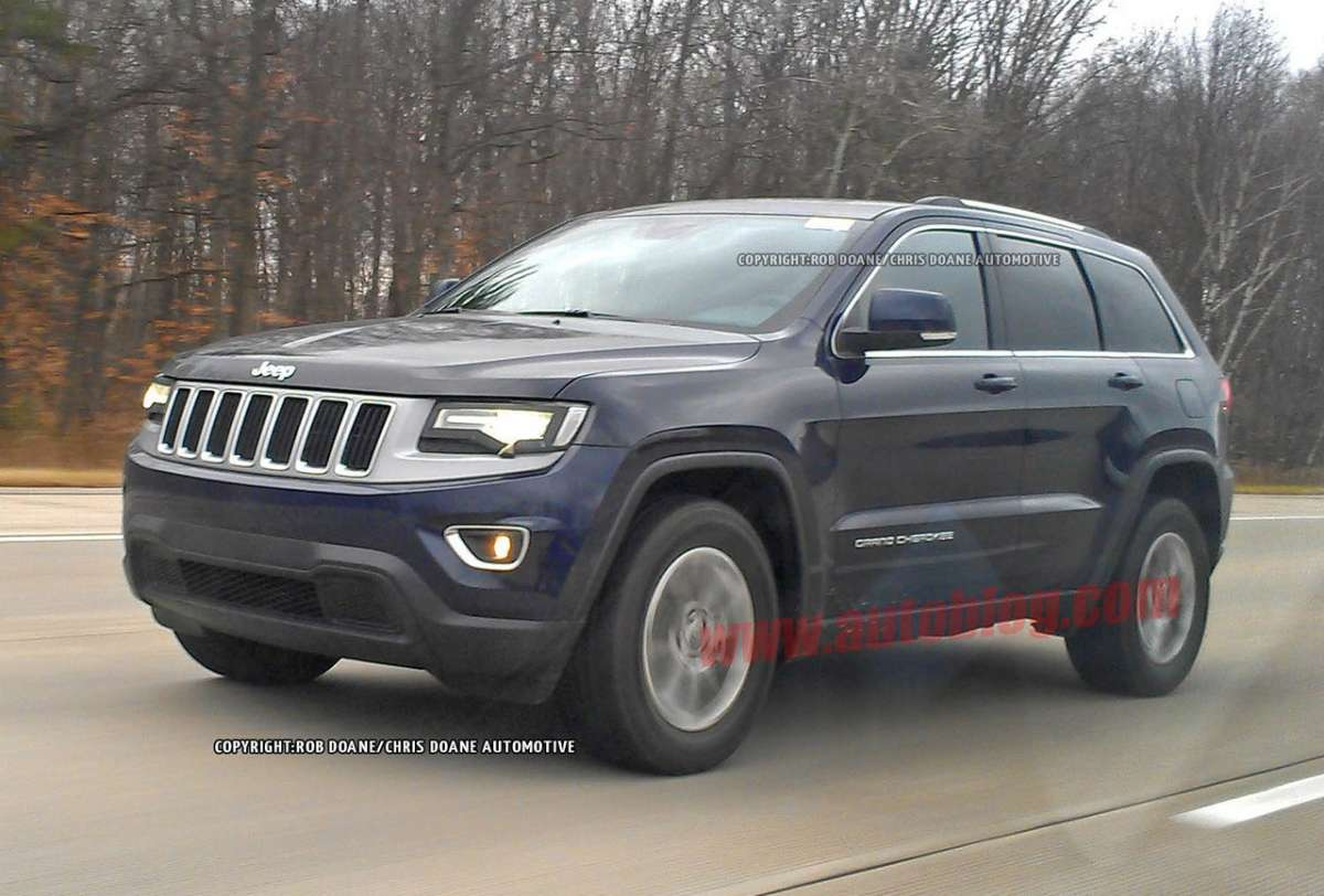 Jeep Grand Cherokee 2014 frontale