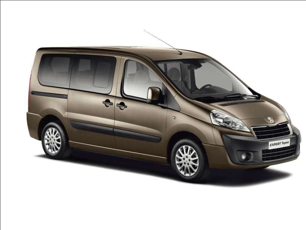 Peugeot Expert Tepee 2012 laterale anteriore