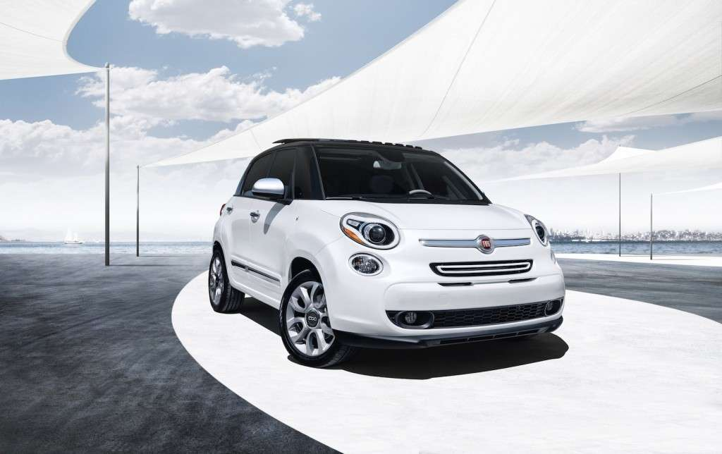 Fiat 500L Touring, frontale