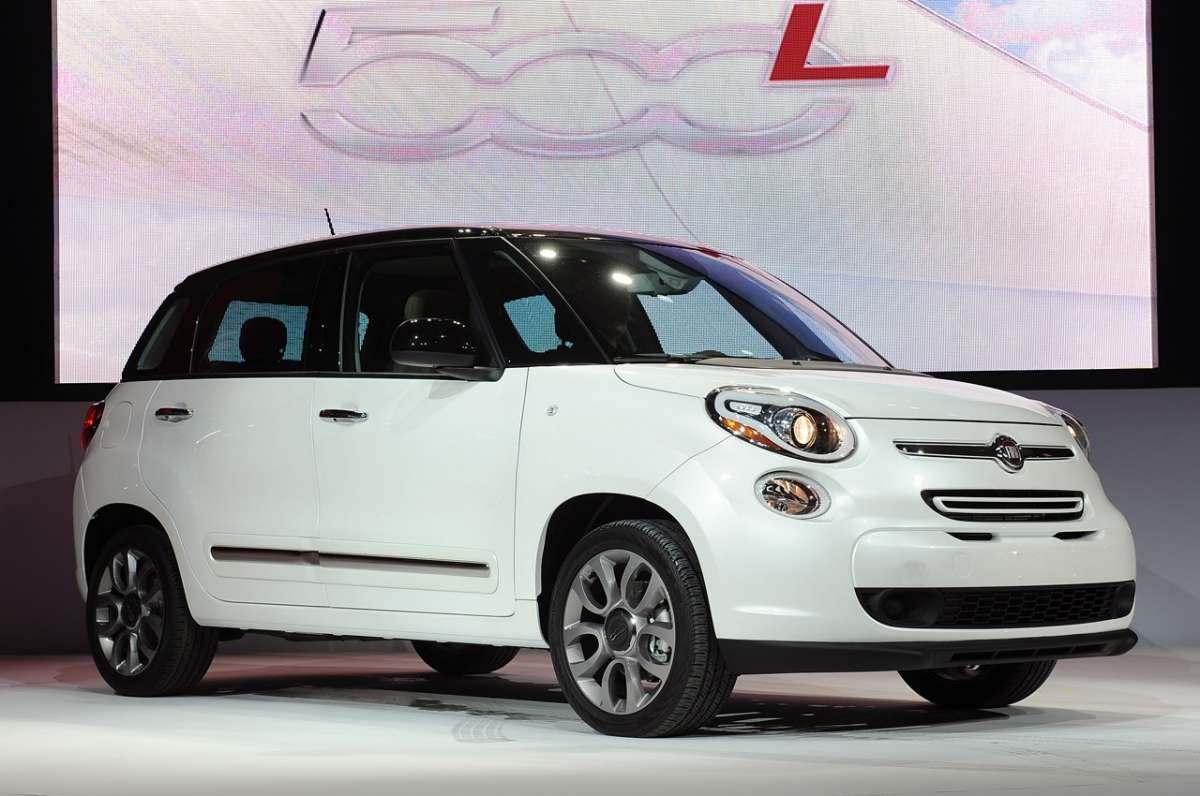 Fiat 500L Touring al Salone di Los Angeles 2012