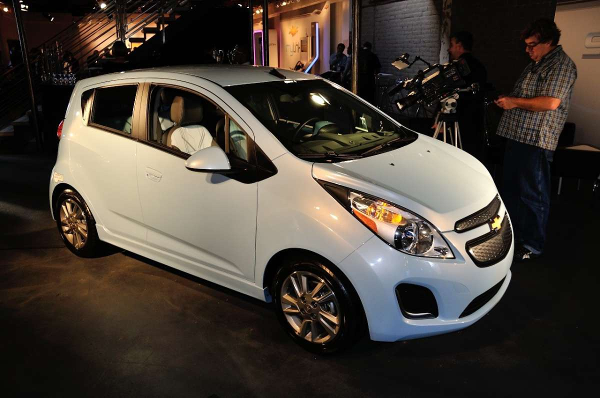 Chevrolet Spark EV al Salone di Los Angeles 2012