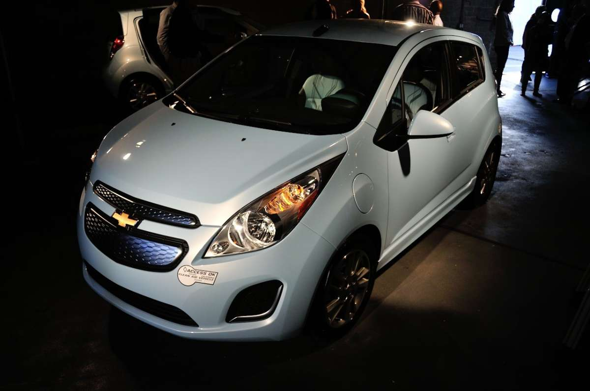 Chevrolet Spark EV al Salone di Los Angeles 2012 (14)