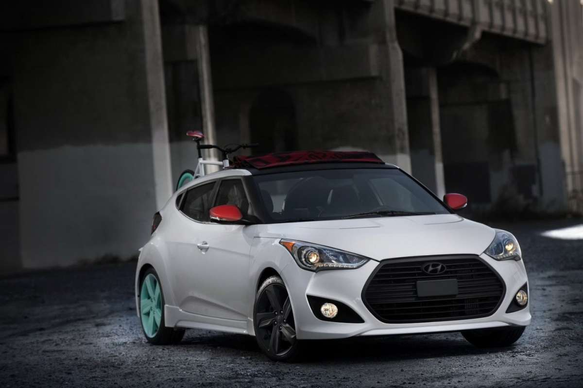 Hyundai Veloster C3 Roll Top frontale