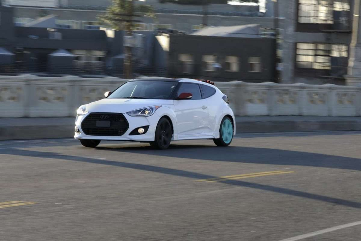 Hyundai Veloster C3 Roll Top muso