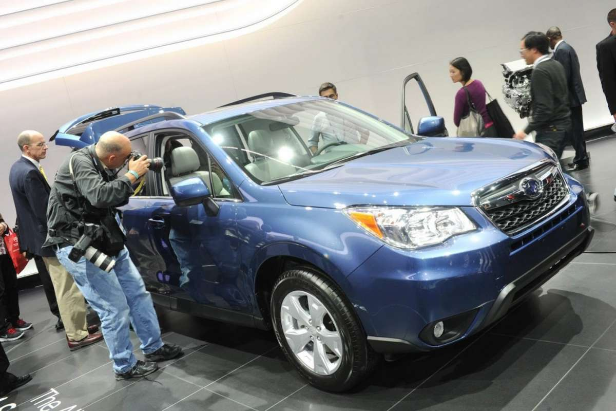 Subaru Forester 2013 al salone di Los Angeles 2012 (3)