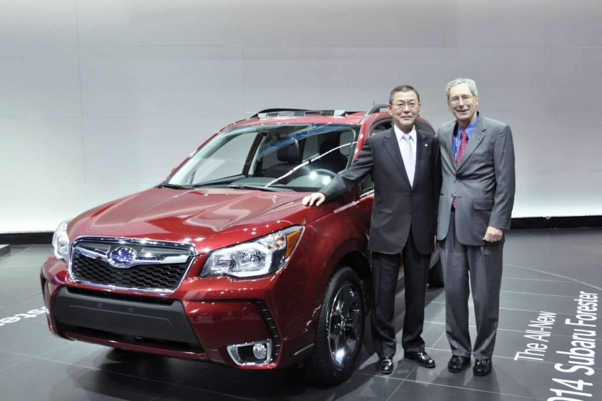 Subaru Forester 2013 al salone di Los Angeles 2012 (16)