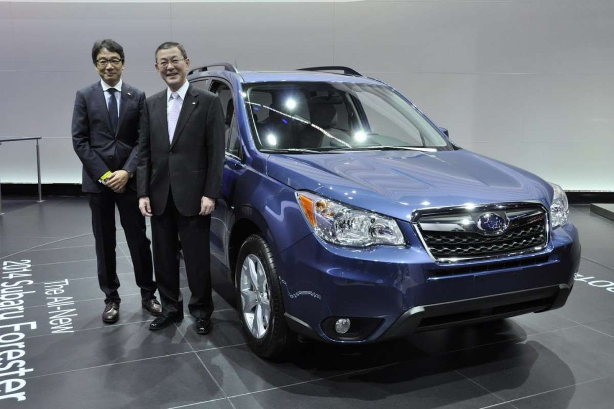 Subaru Forester 2013 al salone di Los Angeles 2012