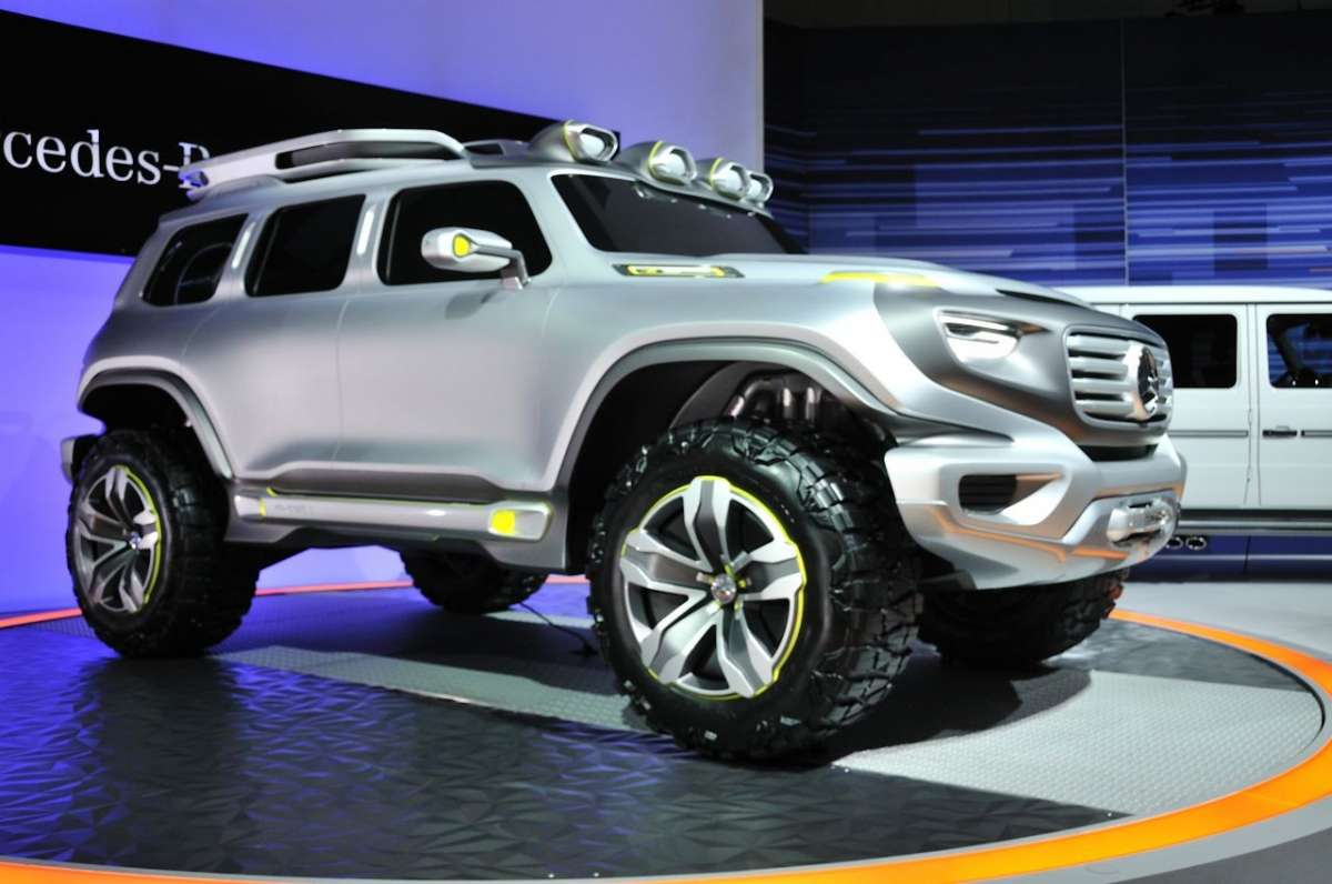 Mercedes-Benz Ener-G-Force al Salone di Los Angeles 2012