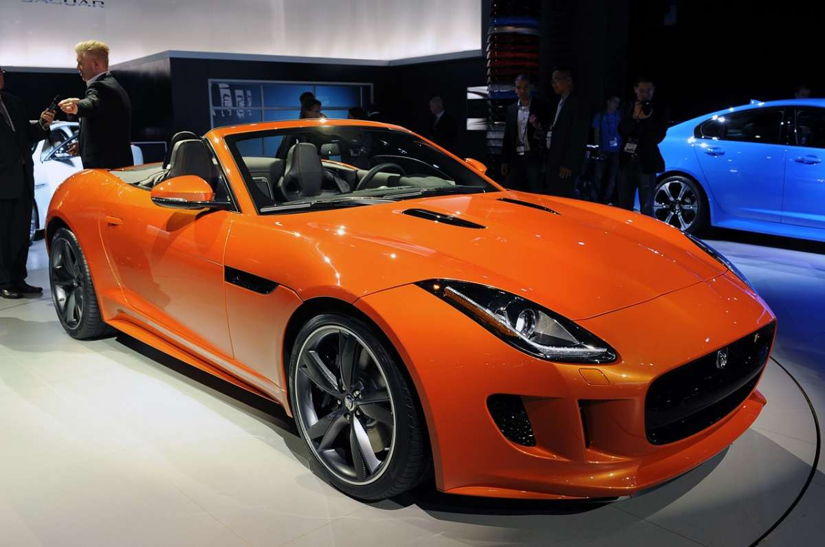 Jaguar F-Type al Salone di Los Angeles 2012