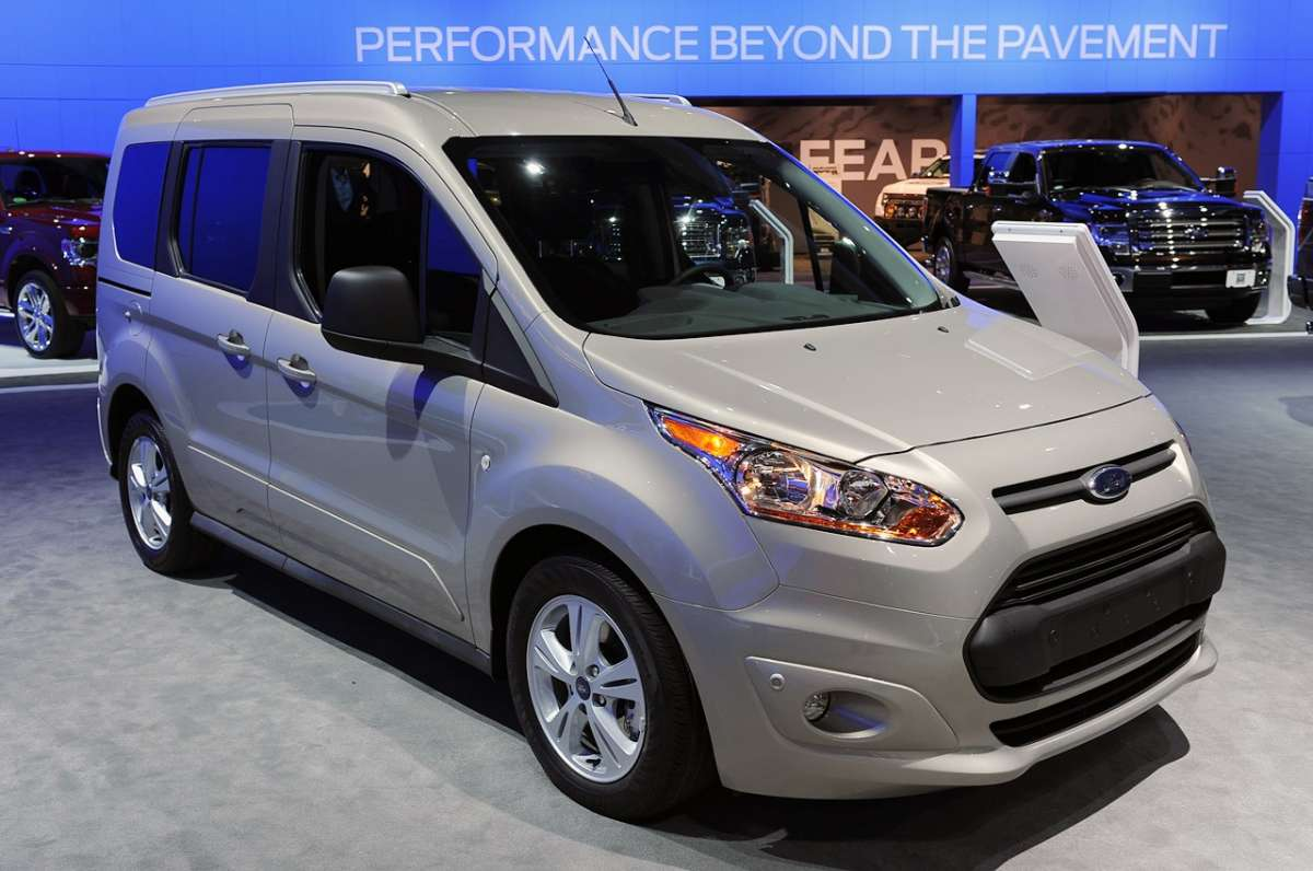 Ford Tourneo Connect al Salone di Los Angeles 2012
