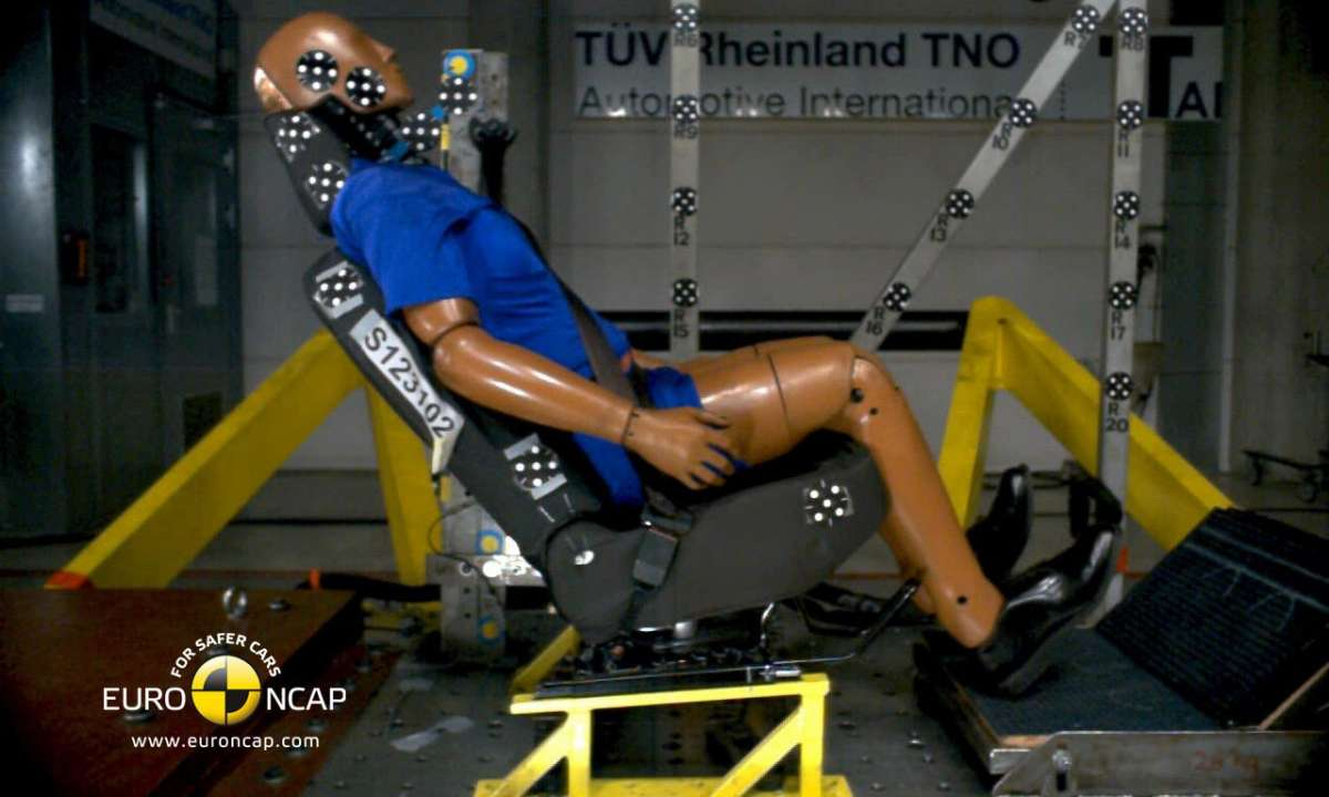 Crash Test Euro NCAP Dacia Lodgy conducente