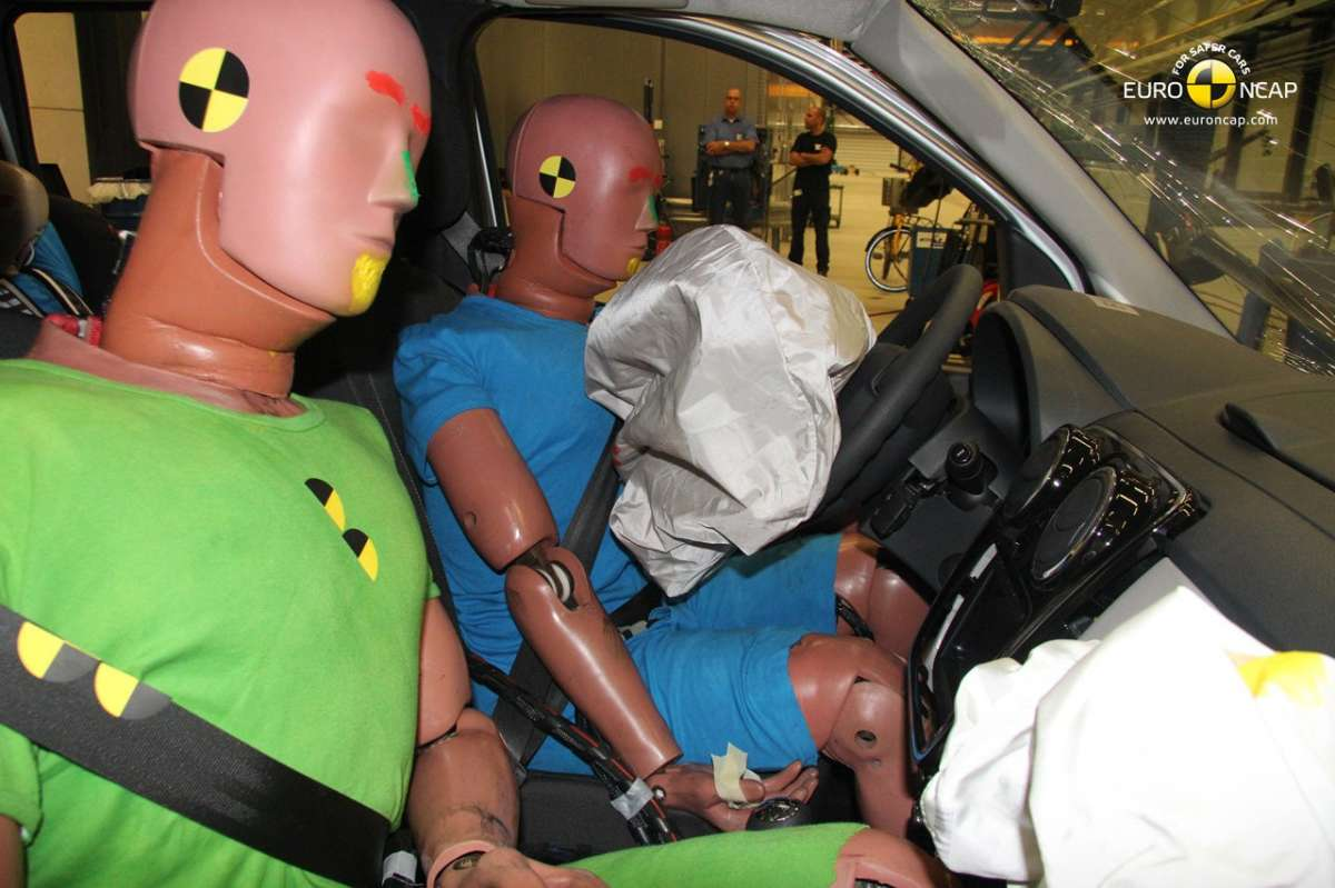 Crash Test Euro NCAP Dacia Lodgy passeggeri