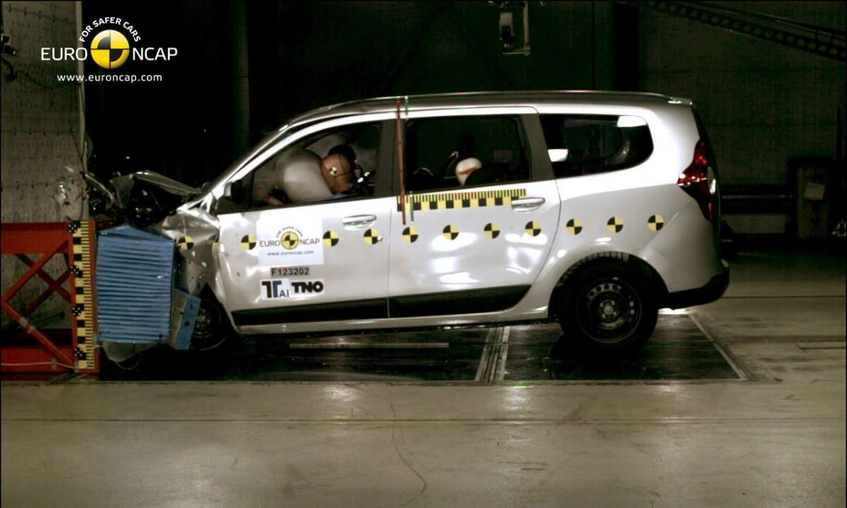 Crash Test Euro NCAP Dacia Lodgy