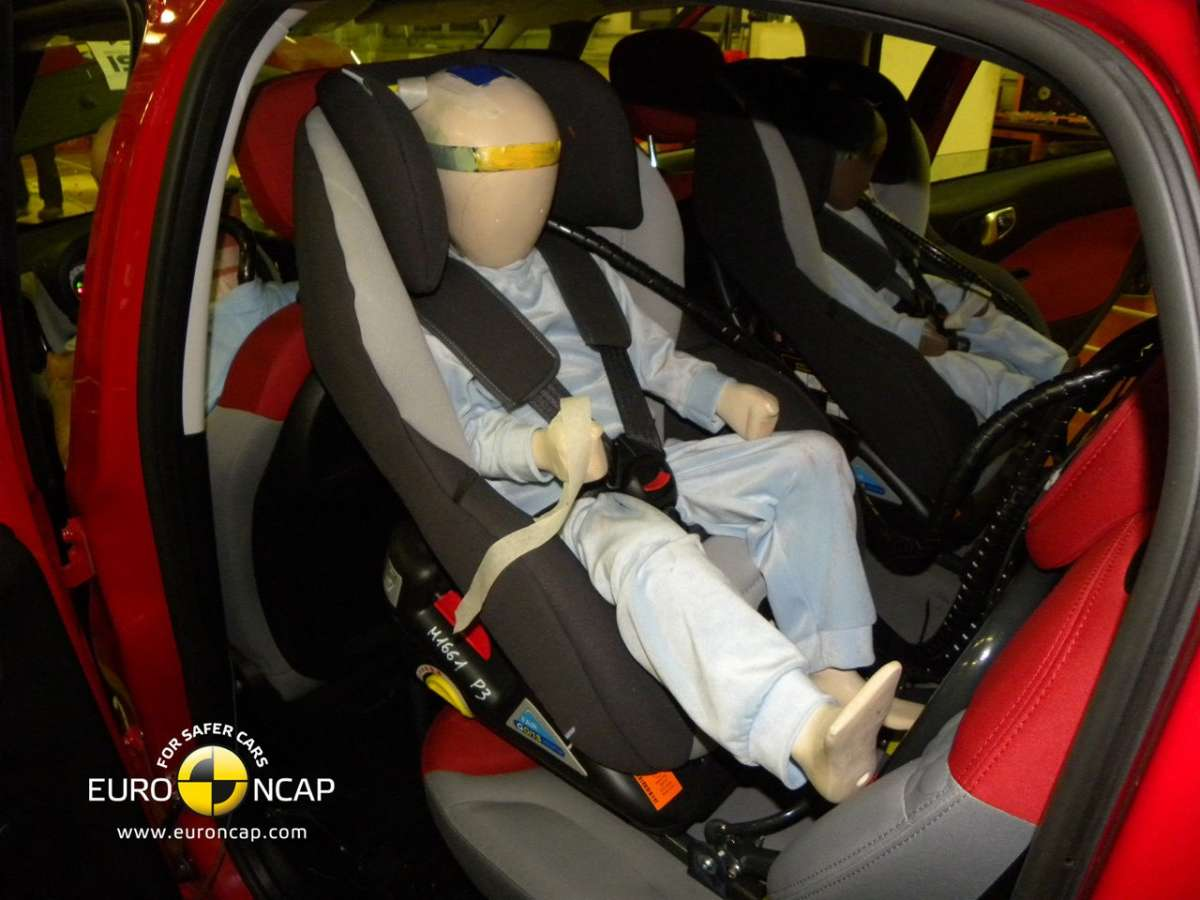 Crash Test Euro NCAP Fiat 500L bambini