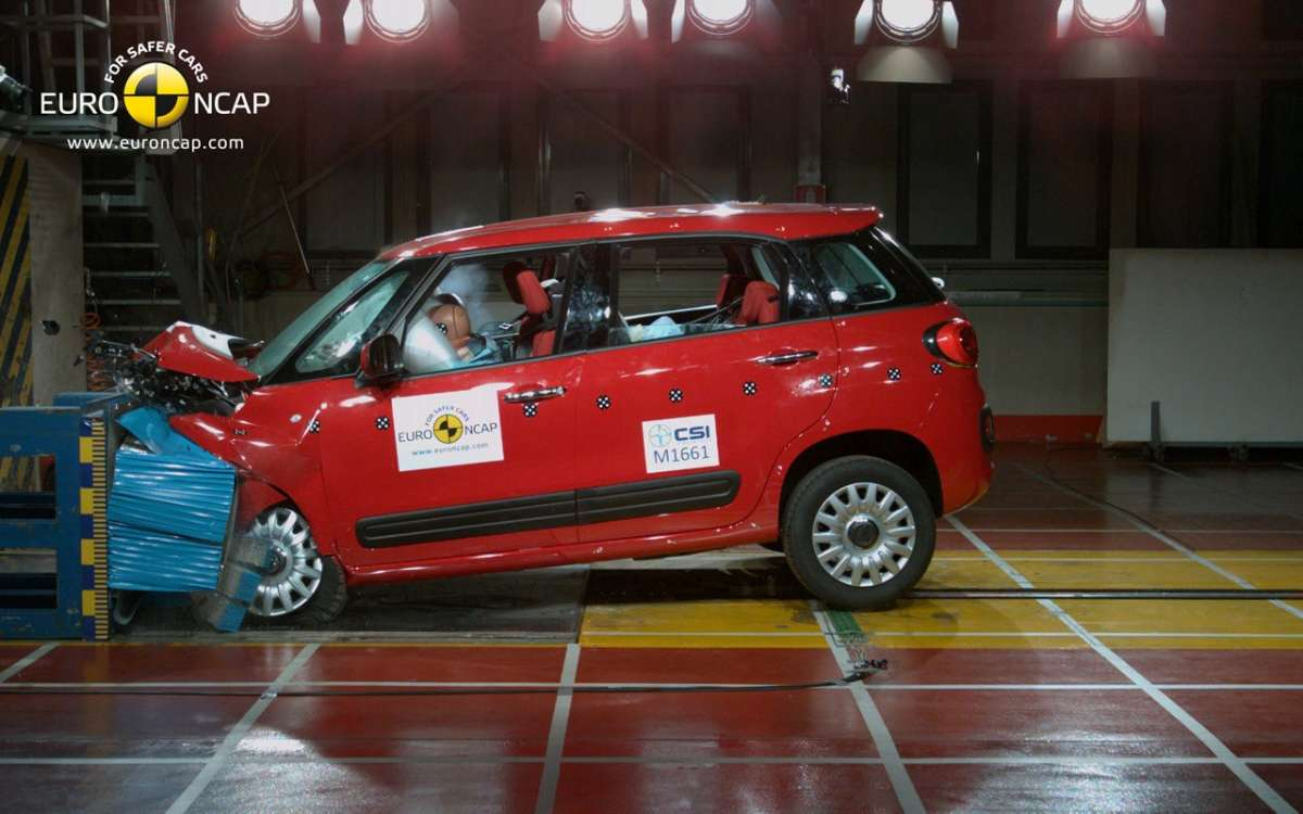 Crash Test Euro NCAP Fiat 500L