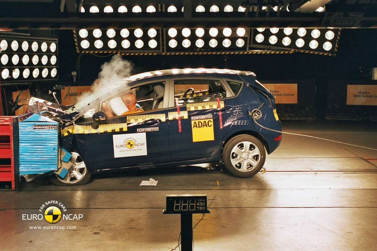 Crash Test Euro NCAP Ford Fiesta