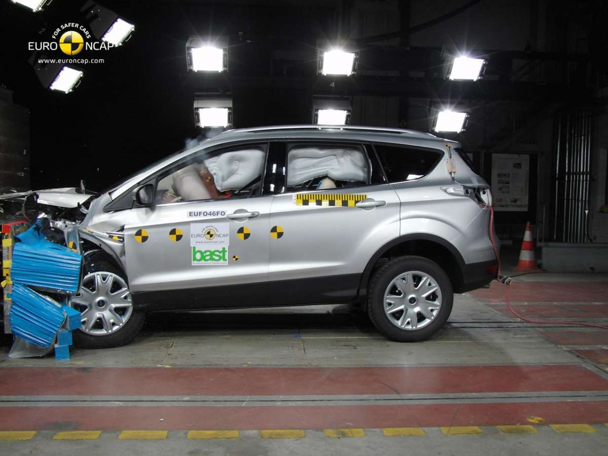 Crash Test Euro NCAP Ford Kuga