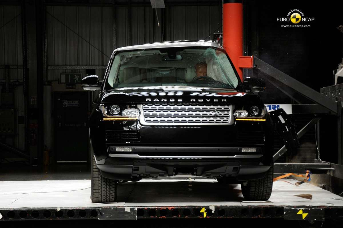 Crash Test Euro NCAP Land Rover Range Rover laterale