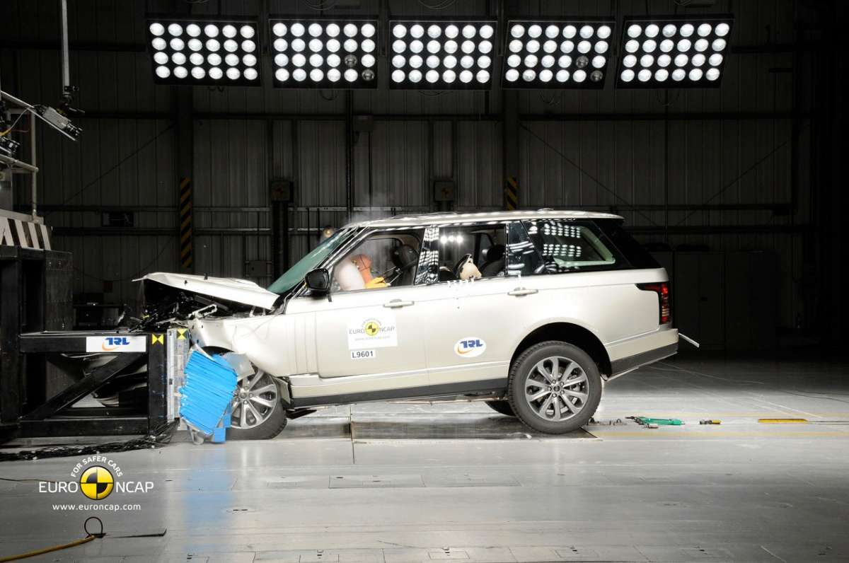 Crash Test Euro NCAP Land Rover Range Rover