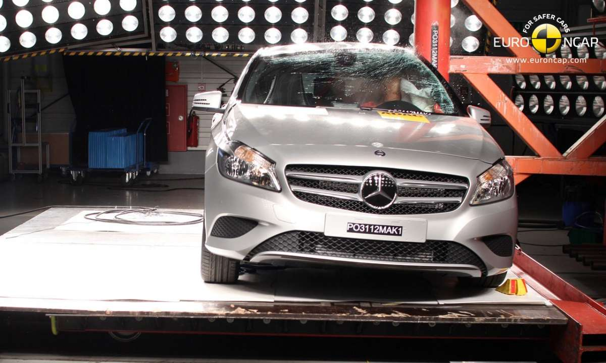 Crash Test Euro NCAP Mercedes Classe A laterale