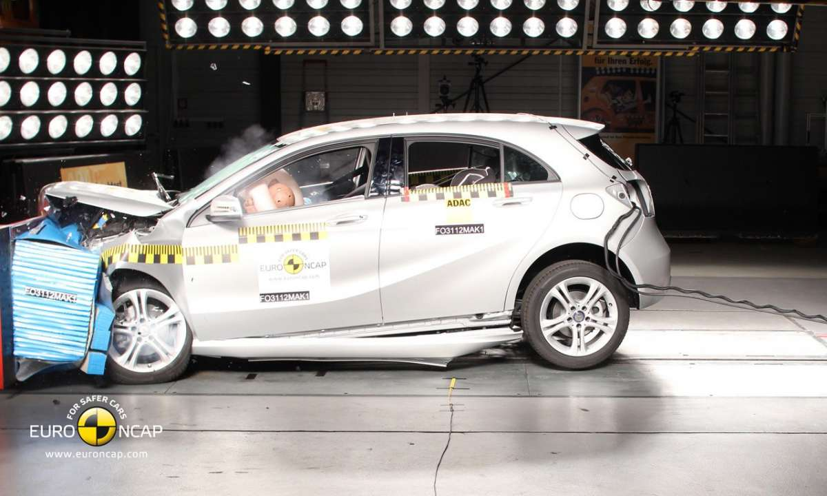Crash Test Euro NCAP Mercedes Classe A