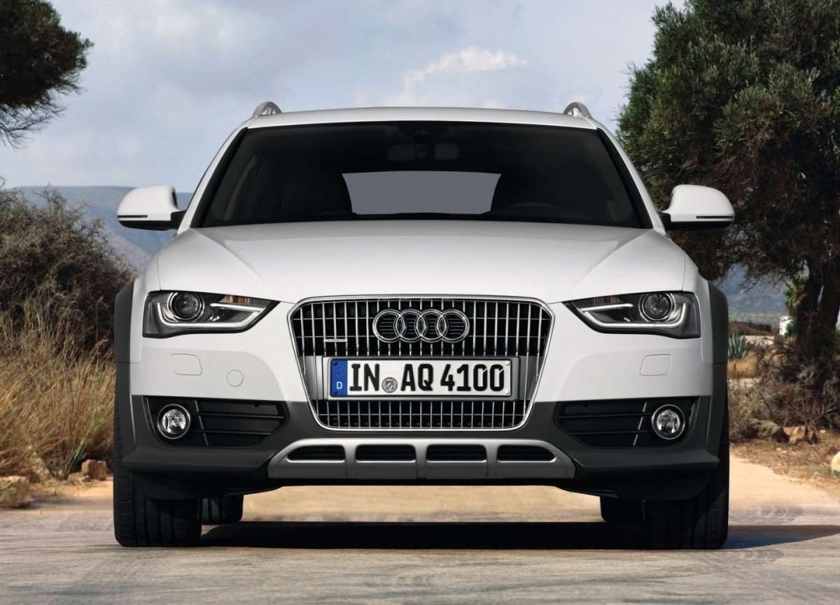 Audi A4 Allroad Restyling-frontale