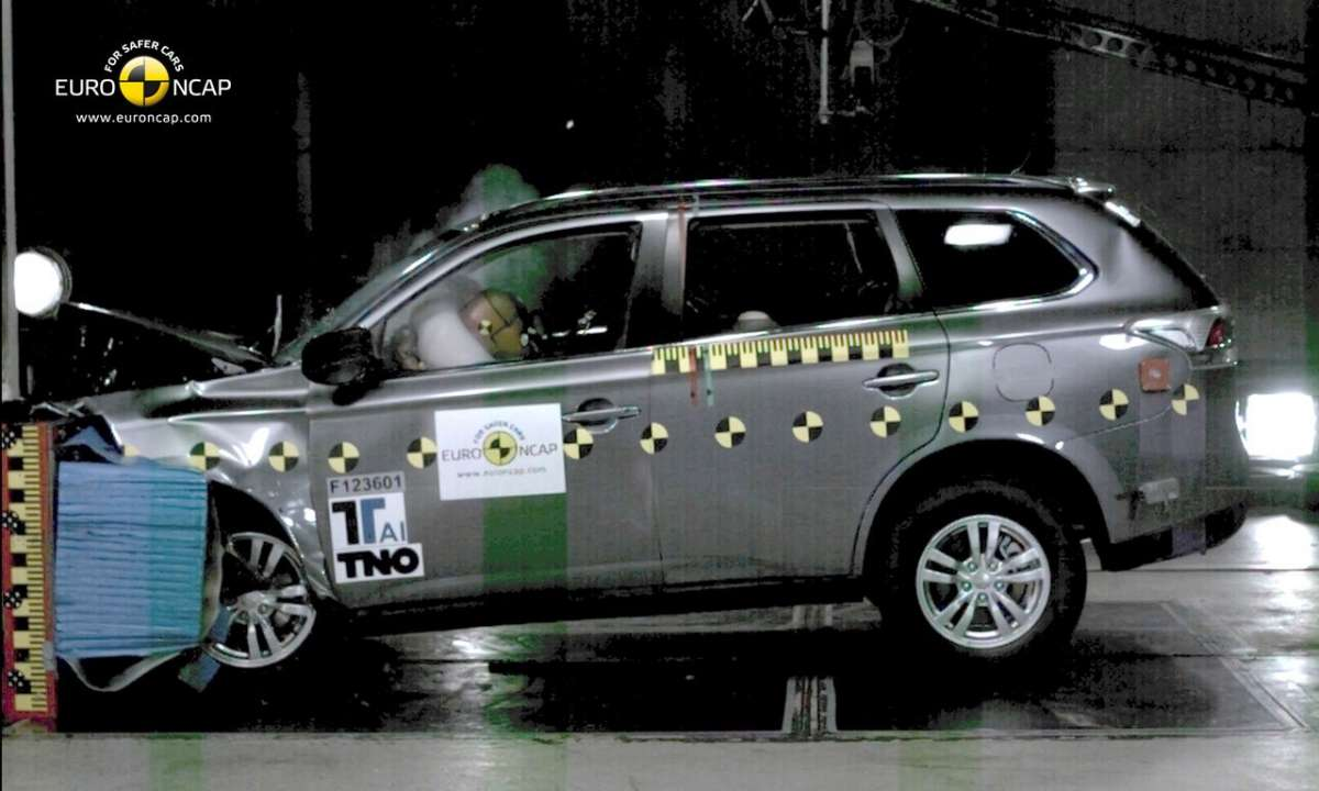 Crash Test Euro NCAP Mitsubishi Outlander