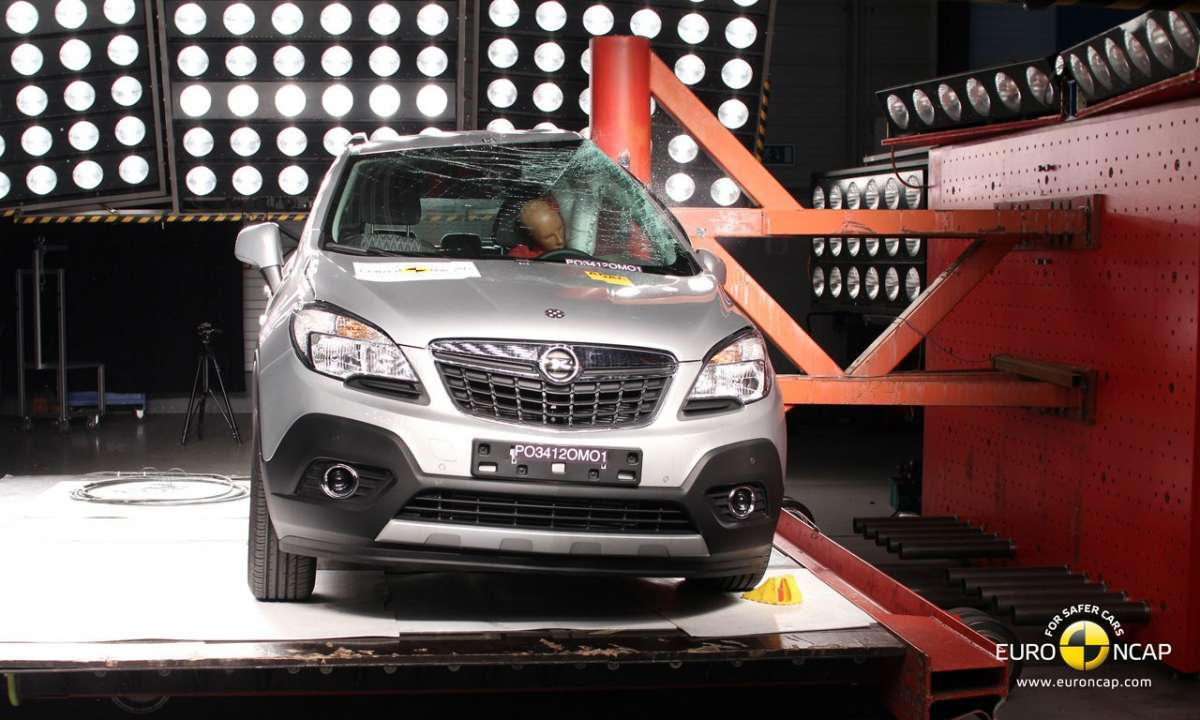 Crash Test Euro NCAP Opel Mokka laterale