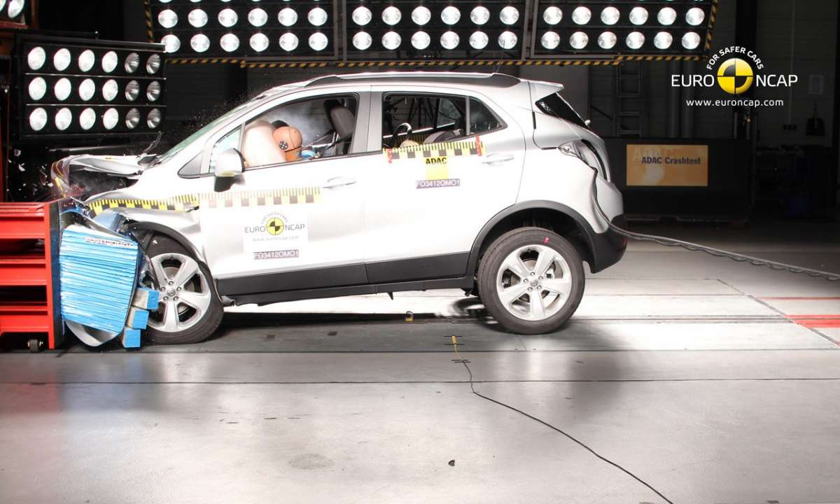 Crash Test Euro NCAP Opel Mokka