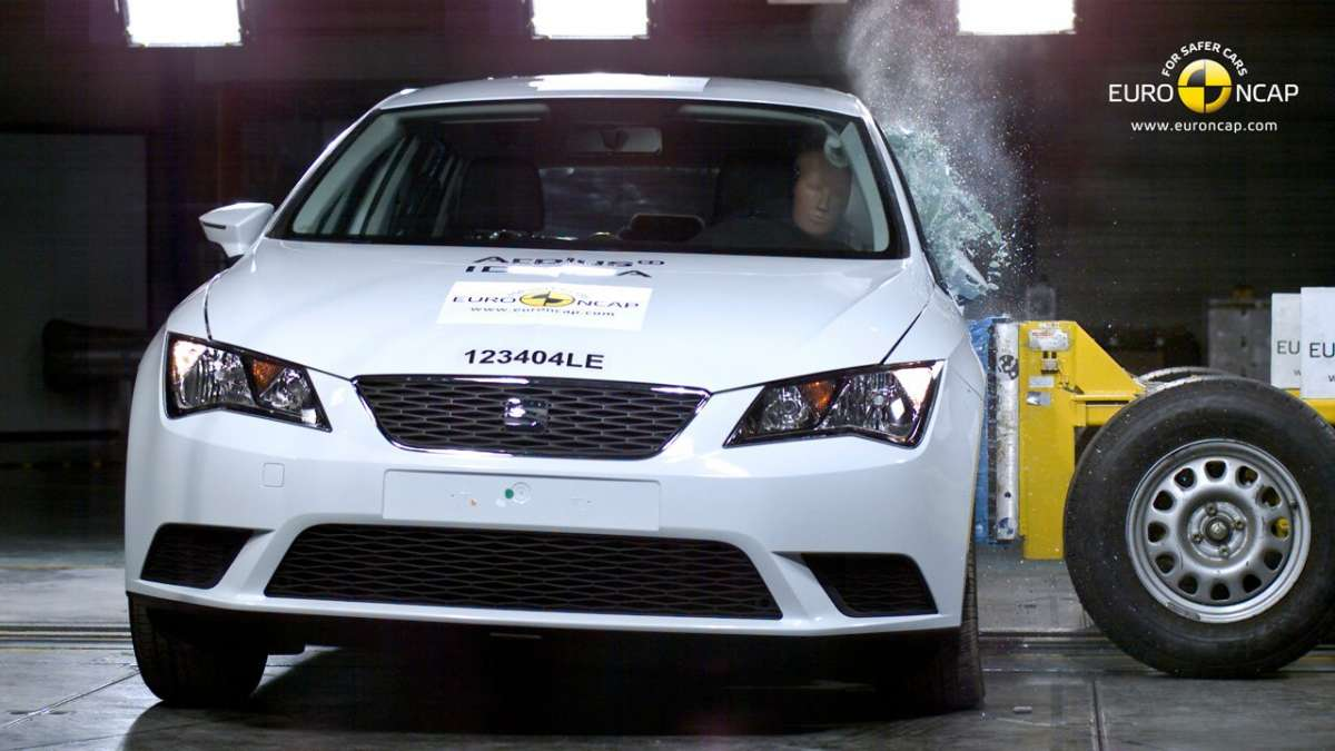 Crash Test Euro NCAP Seat Léon laterale