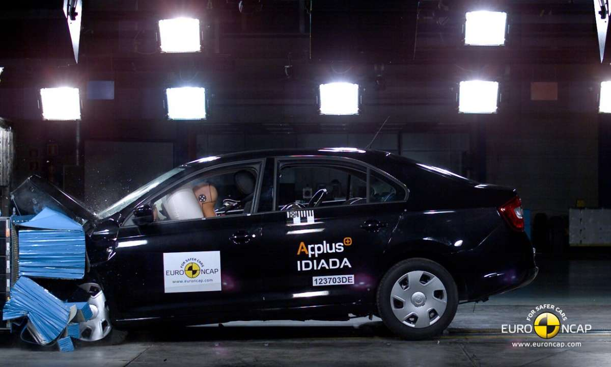 Crash Test Euro NCAP Skoda Rapid