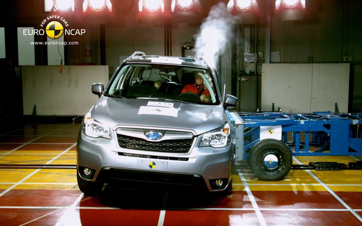 Crash Test Euro NCAP Subaru Forester anteriore