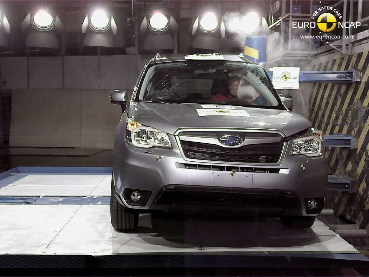 Crash Test Euro NCAP Subaru Forester laterale