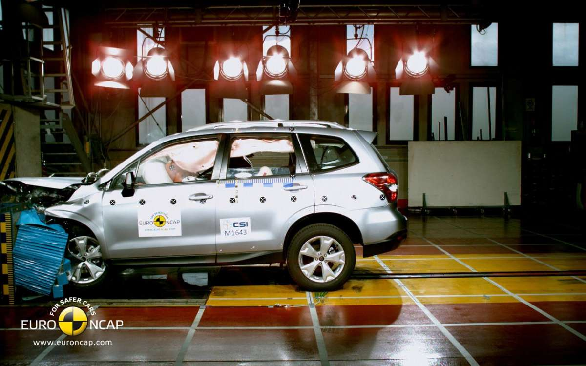 Crash Test Euro NCAP Subaru Forester