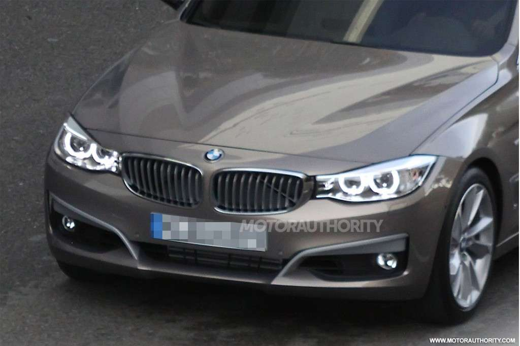 BMW Serie 3 GT 2013 particolare frontale