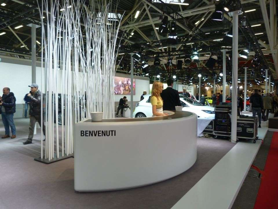 Renault al Motor Show 2012-visuale stand