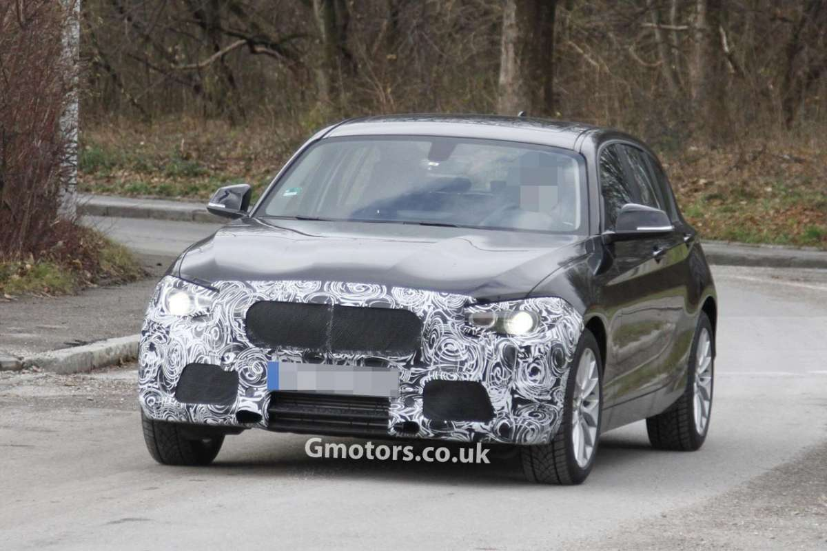 BMW Serie 1 2013 restyling muso