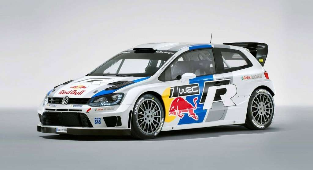 Volkswagen Polo R WRC rally frontale