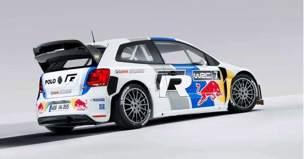 Volkswagen Polo R WRC rally posteriore