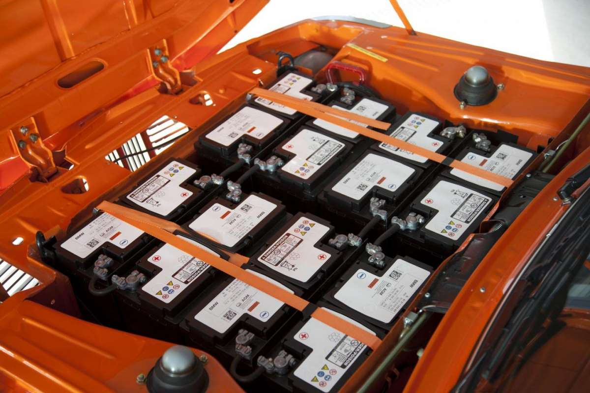 BMW 1602 Electric batterie